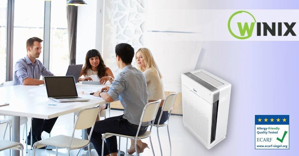 Ofislerde Hava Temizleme Cihazı Ile Toz Ve Alerjenleri Yok Edin.
