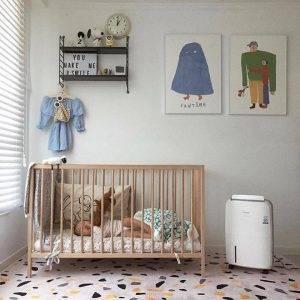 Bebek Ve çocuk Sağlığı Için Temiz Hava Saglamak Winix'in Işi