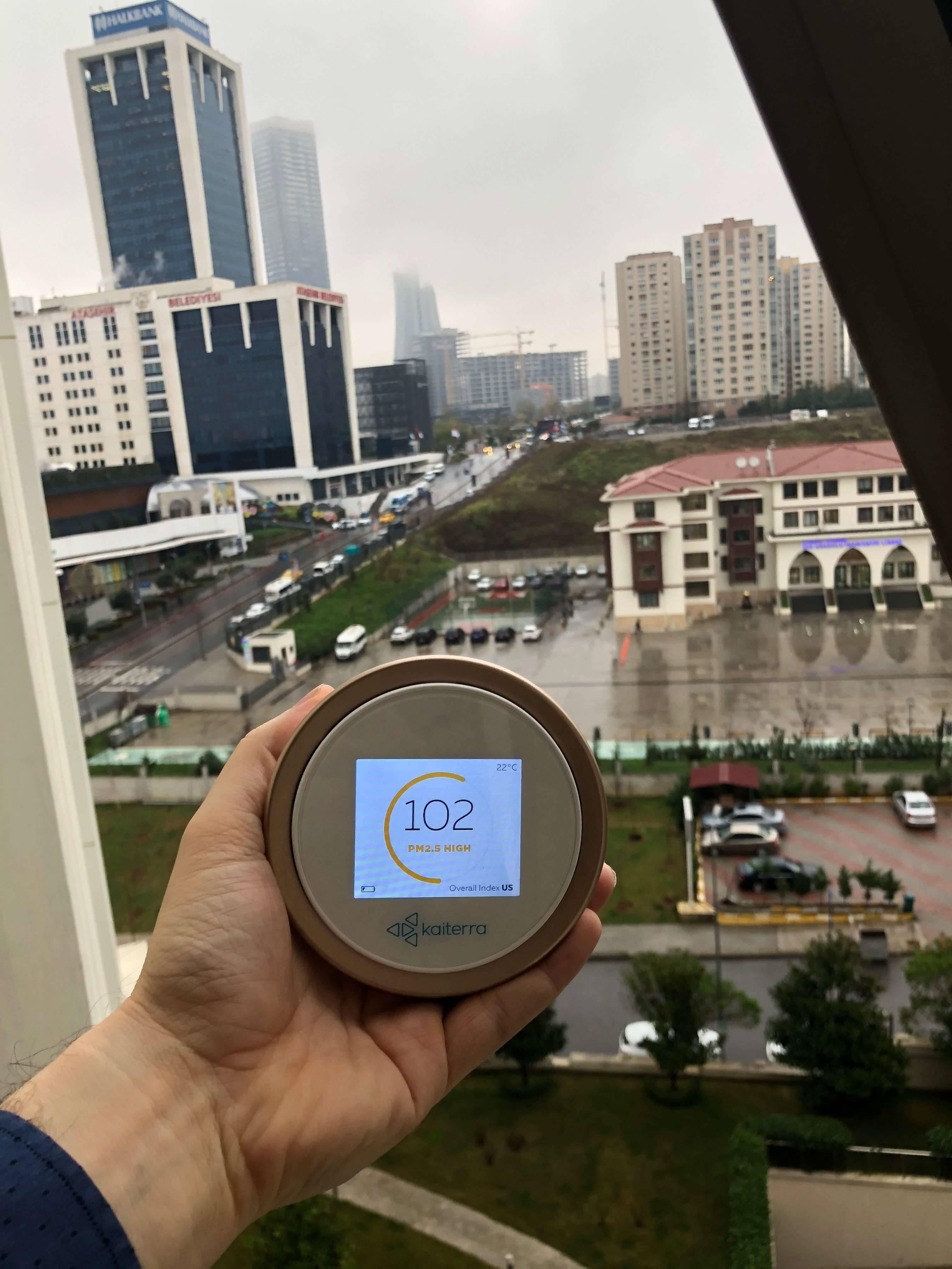 Bati Atasehir Istanbul Hava Kalitesi Kirlilik2