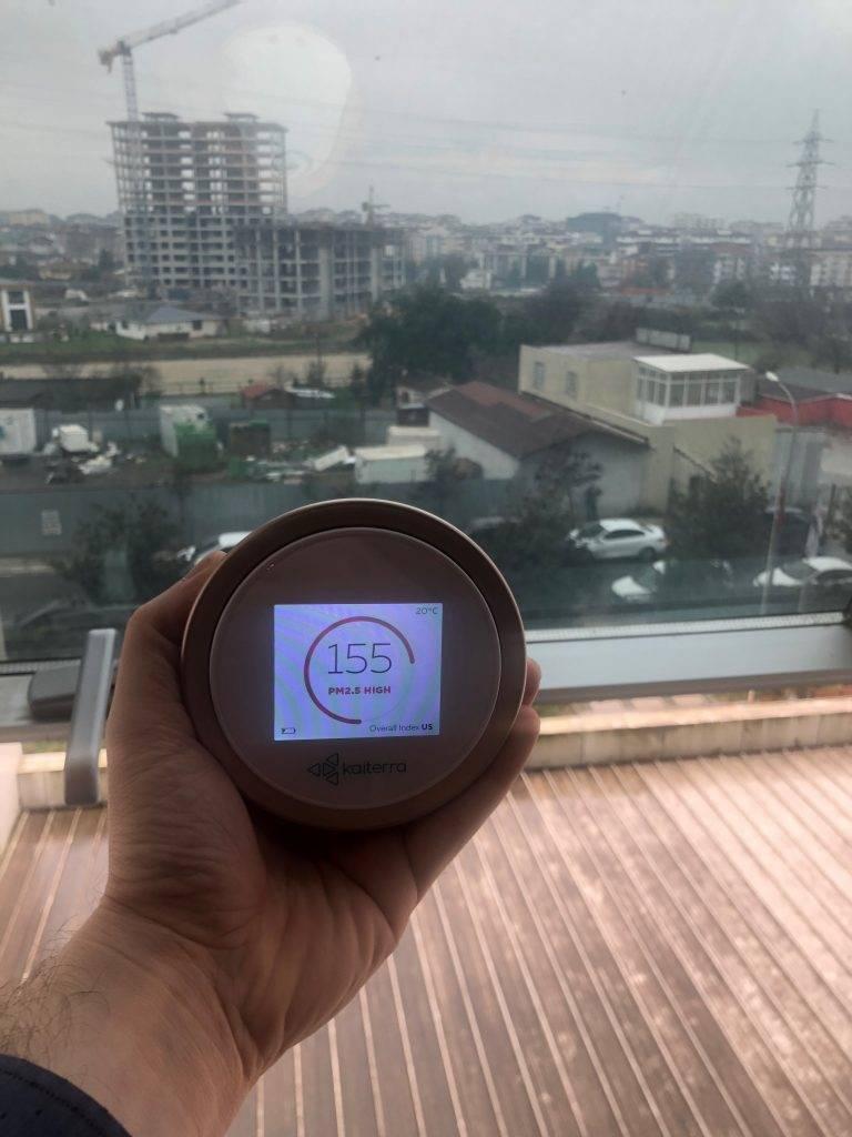 Samandıra hava kalitesi ve hava kirliliği durumu