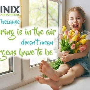 Bahar Alerjisi Ve Polen Alerjisine çözüm Winix Hava Temizleme Cihazı