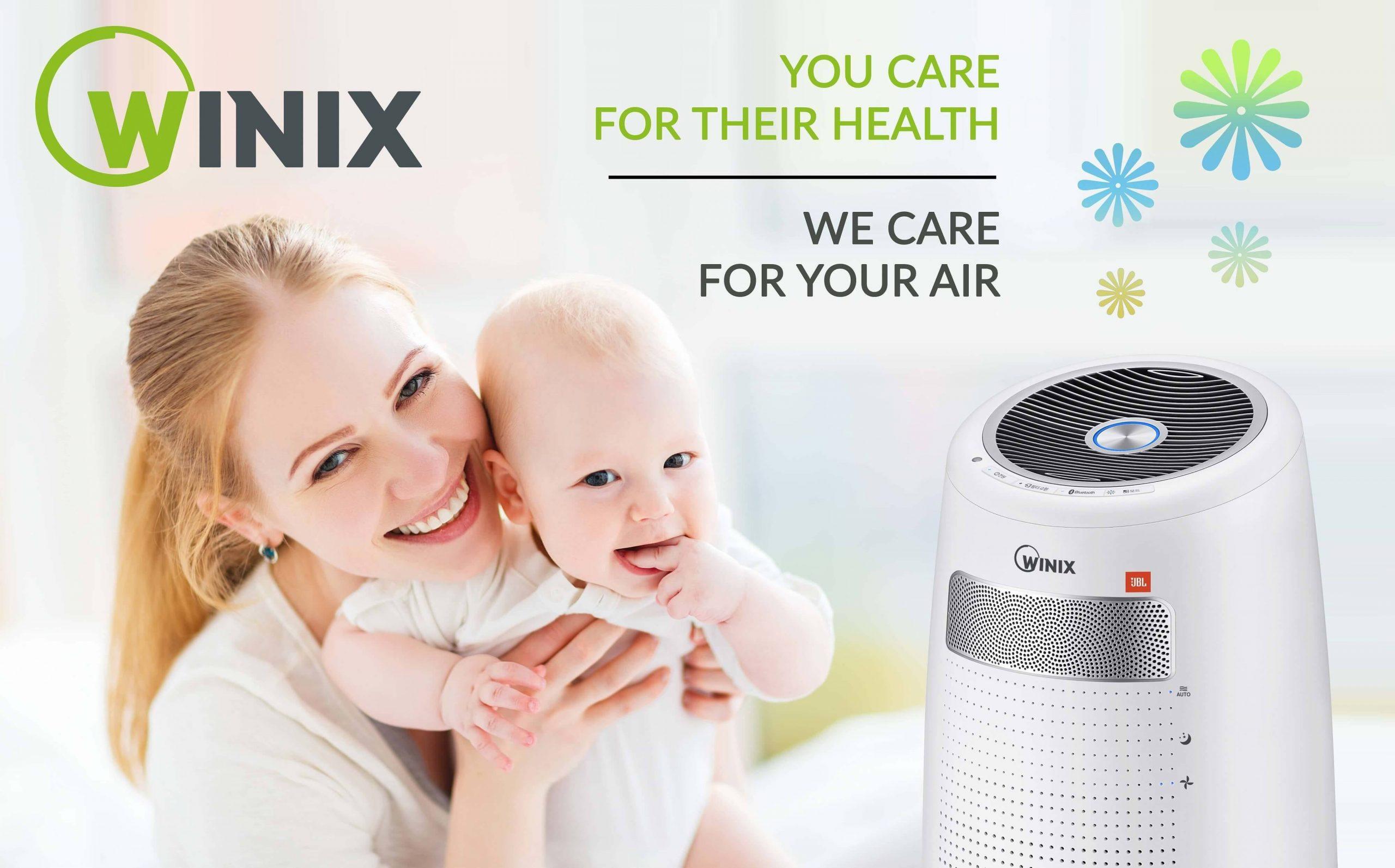 Temiz Hava Soluyabilmek Için Winix Hava Temizleme Cihazları.