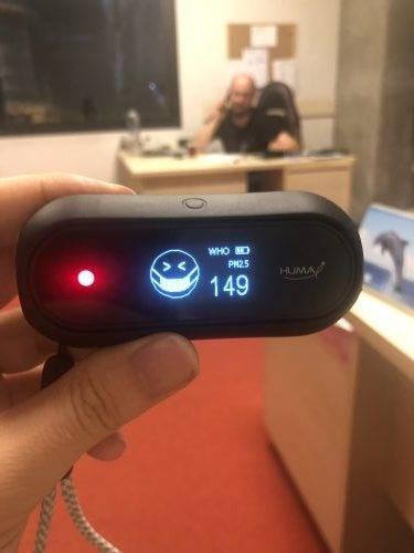 Huma-i hava kalitesi ölçüm cihazı