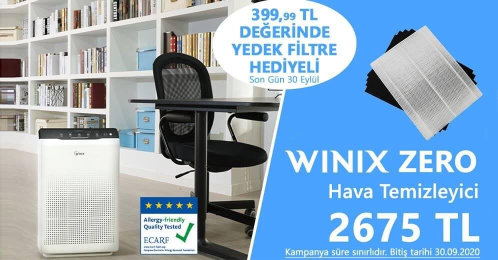 Zero Yedek Filtre Hediye Banner 30.09.2020