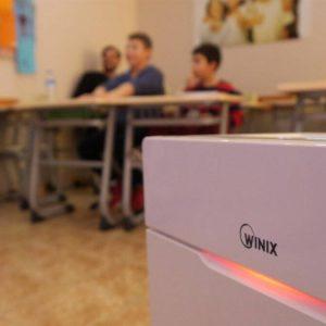 Okullarda WINIX Hava Temizleme Cihazı Kullanımı