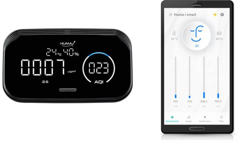 humai smart hi300 hava kalitesi ölçüm cihazı uygulaması humaiapp